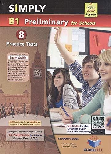 2020 Simply B1 Preliminary for Schools Practice Test (全彩色8回合)-Student