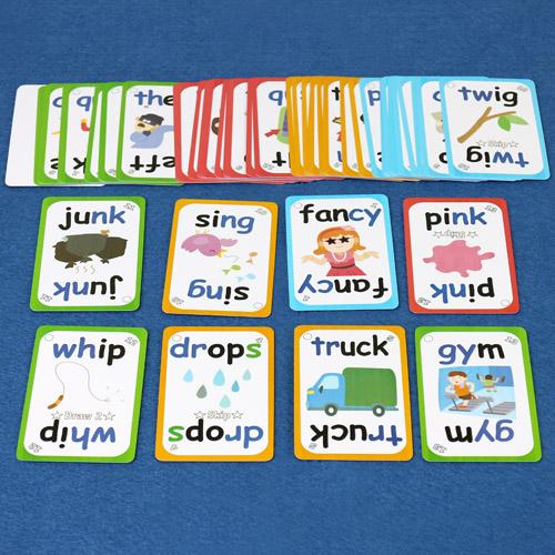 JJ Funics Card(2) - Consonants Digraph/Blends/Soft C/ Soft G