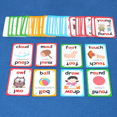 JJ Funics Card(6)  - Vowels