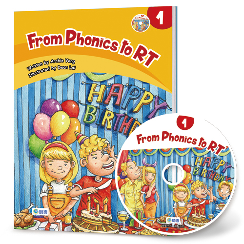 From Phonics to RT 1 (附1CD)