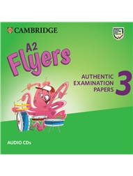 Cambridge English Flyers 3 (A2) Audio CD for Revised Exam from 2018